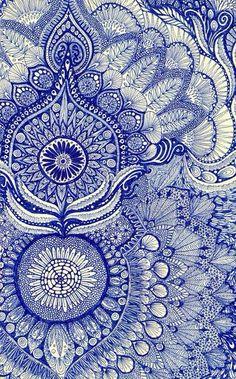 Love that pattern #mandala