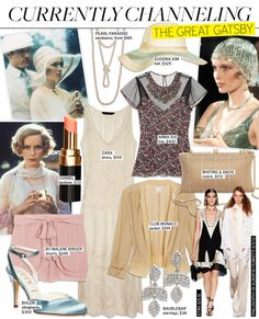 Currently Channeling: The Great Gatsby - Celebrity Style and Fashion from WhoWhatWear (suddenly really feeling the 1920's)