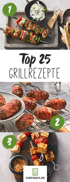 Internationale Grillrezepte von Souvlaki bis Saté Top 25 barbecue recipes from all over the world. So the barbecue season can begin! Barbecue Recipes, Grilling Recipes, Pork Recipes, Vegetarian Lifestyle, Vegetarian Recipes, Plancha Grill, Paleo For Beginners, Grill Party, Pork Ribs