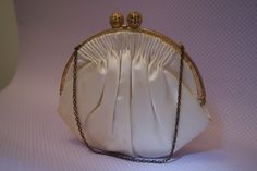 vintage party purse /bride pouch by memoriesFrancaise on Etsy