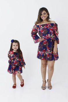 Vestido tal mãe tal filha para presente de Dia das Mães.  Saiba mais em: http://mamaepratica.com.br/2016/04/13/14-presentes-para-dia-das-maes/