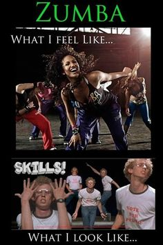 Even tho I don't do Zumba this is hilarious!