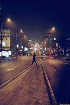 Beograd. Belgrade. City. Night. Street.  http://www.belgradian.com/nightlife/