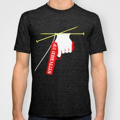 Stitched Up T-shirt by Mailboxdisco a great shirt for your next arrest