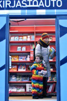 Helsinki's new Moomin library bus