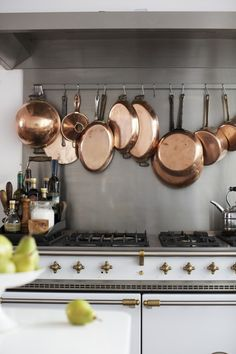 The Cook's Atelier in Beaune, France | Remodelista - beautiful range
