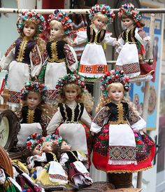 Lviv - Ukrainian dolls