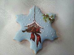 Winter / snow themed cookies, Christmas cookies