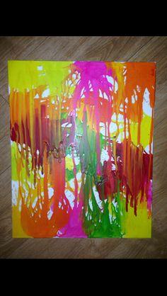 Bright crayon piece