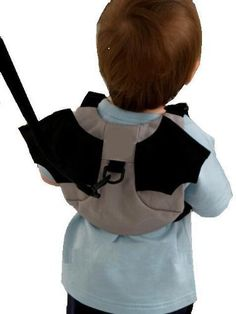 Baby Toddler Safety Harness Reins Backpack BATMAN