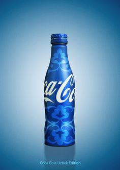 Coca Cola Blue Bottle