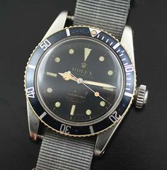 Rare vintage Rolex 6538 big crown Submariner - Used and Vintage Watches for Sale