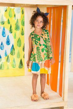 Verão 2016 | A Fábula Fashion Kids, Girl Fashion, Little Girl Dresses, Girls Dresses, Cool Kids Clothes, Girls World, Kids Prints, Girls Wear, Children's Place