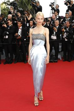 Cannes Film Festival 2015: All of the Best Red Carpet Dresses - Aymeline Valade in Ulyana Sergeenko   StyleCaster