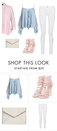 """inspiration"" by monika1555 on Polyvore featuring Sans Souci, Rebecca Minkoff, Frame Denim and City Chic"