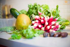 Chef Jean-Philippe Bourgeois's dishes are prepared exclusively with fresh vegetables.