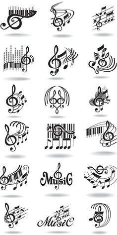 Tatoo Music, Music Tattoos, Tatoos, Art Tattoos, Music Lyrics, Music Songs, Sheet Music Tattoo, Music Symbol Tattoo, Gangster Tattoos