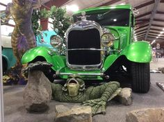 First show of 2016. At the Tradex in Abbotsford BC Canada. With The Creature from the Black Lagoon out front