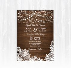 Hey, I found this really awesome Etsy listing at https://www.etsy.com/listing/454749682/vintage-lace-wedding-invitation-diy