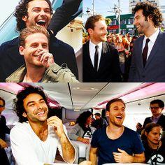 The Hobbit: Aidan Turner and Dean O'Gorman (Kili and Fili)