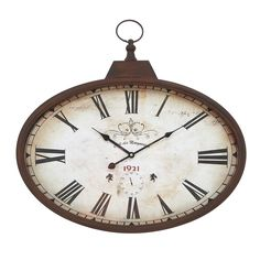 Metal Wall Clock   Overstock™ Shopping - Great Deals on Clocks