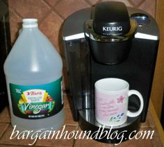 How to easily clean your Keurig coffee maker & make it run like new again!