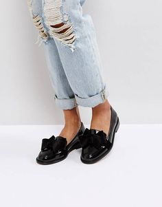 f887fe6ff3be ASOS MATCHMAKER Loafer Flat Shoes Asos Loafers, Loafer Flats, Classy Summer  Outfits, Shoe