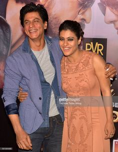 Shah Rukh Khan and Kajol promoting their upcoming movie 'Dilwale' in Mumbai.