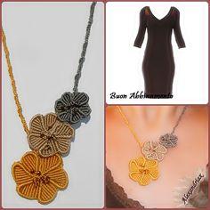 Crochet Necklace, Facebook, Jewelry, Fashion, Knots, Moda, Jewlery, Jewerly, Fashion Styles