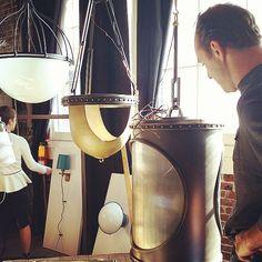 #BackenGillamKroegerArchitects checking out #UECo_NewCollections #OroBianco_ueco #MartinBrudnizki_UECo @MBDS_News #factorytour #inthefactory #madeinamerica