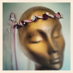 The Classic Bridesmaid hair garland by BloomingLoopy.com - in Fuchsia, Pink and White - £25 made to measure (available in wide choice of colours)