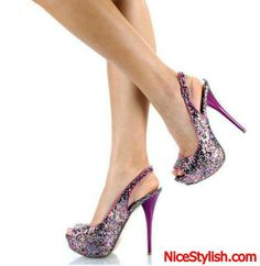 Nice Sequined Shoes For Women 2014