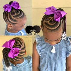 Children's Braids and Beads! Booking Link In Bio! Children's Braids and Beads! Booking Link In Bio! … Children's Braids and Beads! Booking Link In Bio! Toddler Braided Hairstyles, Lil Girl Hairstyles, Natural Hairstyles For Kids, Braided Hairstyles For Black Women, Braids For Black Hair, Natural Hair Styles, Ponytail Hairstyles, Little Girl Braid Styles, Kid Braid Styles