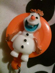 Olaf Retractable ID Badge Holder Lanyard Nurse holder cartoon frozen hospital in Clothing, Shoes & Accessories, Women's Accessories, ID & Document Holders | eBay