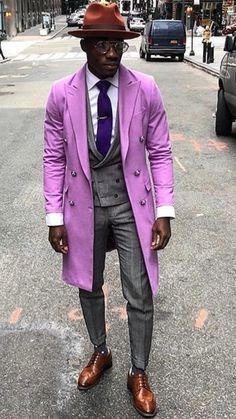 Purple men& men& blazer purple is part of Mens fashion casual outfits - Mens Fashion Suits, Fashion Outfits, Fashion Edgy, Casual Outfits, Fashion Trends, Designer Suits For Men, Lookbook, Well Dressed Men, My Guy