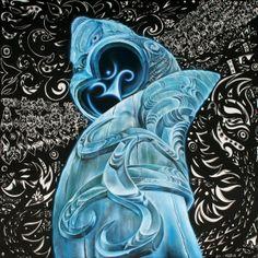 Te Pou Tuatahi by Sofia Minson and Samapeap Tarr Maori Patterns, Polynesian Art, Maori Designs, Nz Art, Abstract Geometric Art, Maori Art, Art Carved, Graffiti Art, Art World