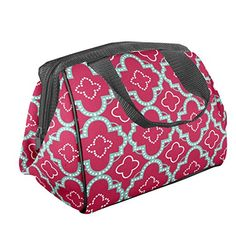 New Cotton Paisley Print #6 Quilted Lunch Bag Side Panels Handle /& Zipper $29
