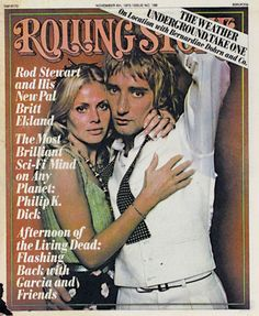 Couples on the Cover: Issue 199: Rod Stewart & Britt Ekland Photograph by Annie Leibovitz