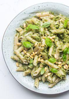 Classic Pesto Pasta | Deliciously Ella