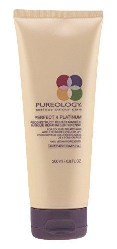 Pureology Perfect 4 Platinum Reconstruct Repair For Blondes (6.7 oz.) *** To view further for this article, visit the image link. #hairrepair