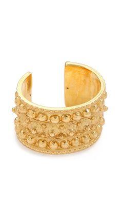 Byzantine cuff compare to modern studded jewelry cuffs vince camuto