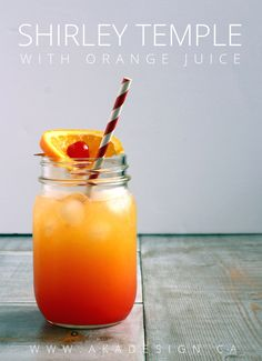 Non Alcoholic Drinks With Orange Juice, Juice Drinks, Fruit Drinks, Beverages, Kid Drinks, Yummy Drinks, Orange Recipes, Fruit Recipes, Juice Recipes