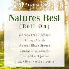 Hi! It's Andrea! I want to share a blend with you that is really effective and convenient—you can tuck it into your pocket or a bag and take it along with you for the day!   I call it Natures Best! It's a roll on to bring relief from the minor aches and pains associated with daily life.   The combination of these essential oils are both calming and soothing! — feeling relieved.