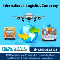 Sky2c is the best international #logistic service provider in #USA, #India and Worldwide at affordable rates. #InternationalLogisticCompany