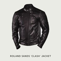 Having scored a direct hit on the café racer market with the Ronin jacket, RSD has gone for more of a rocker style with its latest release. The $650 Clash jacket has a discreet double-breasted design with an offset zipper and classy quilted padding on the shoulders.  It's made from hand finished, oiled and waxed top grain cowhide, with a satin internal liner. The fit is designed for riding, with pre-curved sleeves, extra length at the back, and pockets for you to add armor.:
