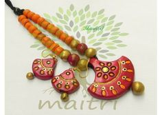 Terracotta Jewelry, terracotta jewellery, terracotta, terracotta set, terracotta necklace, terracotta clay accessories, accessories, natural jewelry, handmade jewelry, handmade jewellery, terracotta earring, terracotta jhumka, terracotta accessories, rive