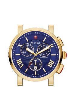 Women's MICHELE 'Sport Sail - Large' Chronograph Watch