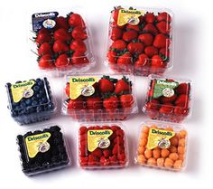 Win 3 Driscoll's Organic Berries Coupons. Ends Real Food Recipes, Snack Recipes, Yummy Food, Healthy Recipes, Snacks, Fruit Packaging, Food Packaging Design, Fresco, Pavlova Recipe