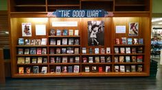 """The Good War,"" featuring WWII fiction, nonfiction, and children's books at Vroman's Bookstore, Pasadena, CA"