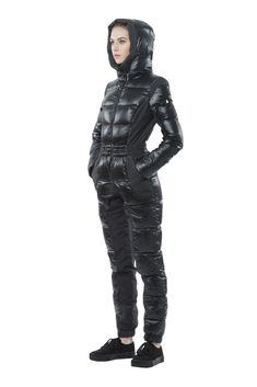 Snowman Hooded Down Snowsuit Women - Bloomingdale's Movie Fancy Dress, Puffer Jackets, Winter Jackets, Triathlon Wetsuit, Down Suit, Plunge Bodysuit, Winter Suit, Funky Outfits, Special Dresses